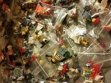 Lego Minifig Lot of 5 New Random Assorted Minifigures FREE SHIPPING