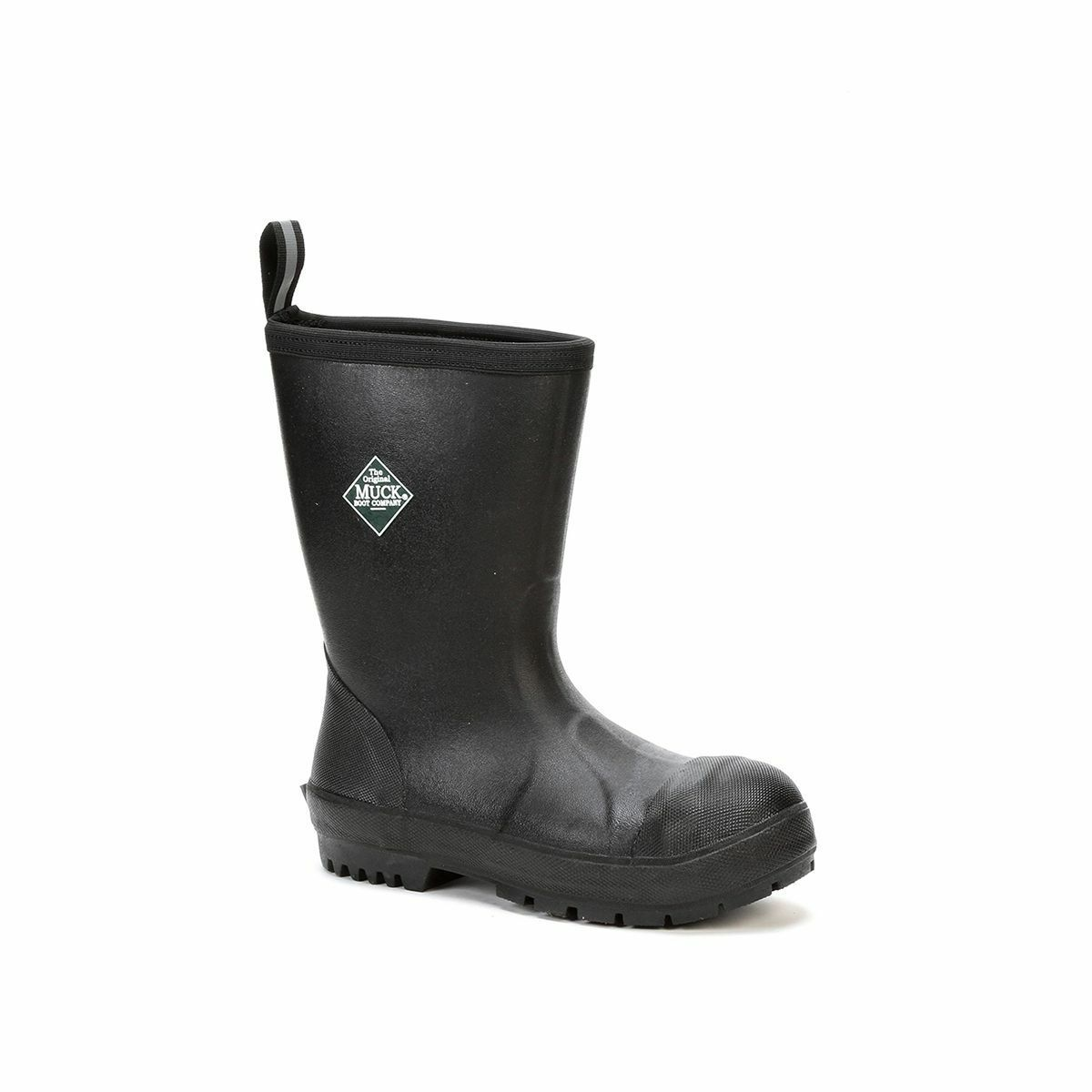 Muck Boots Company Men's/Women's CHORE RESISISTANT MID STEEL SAFETY TOE, BLACK