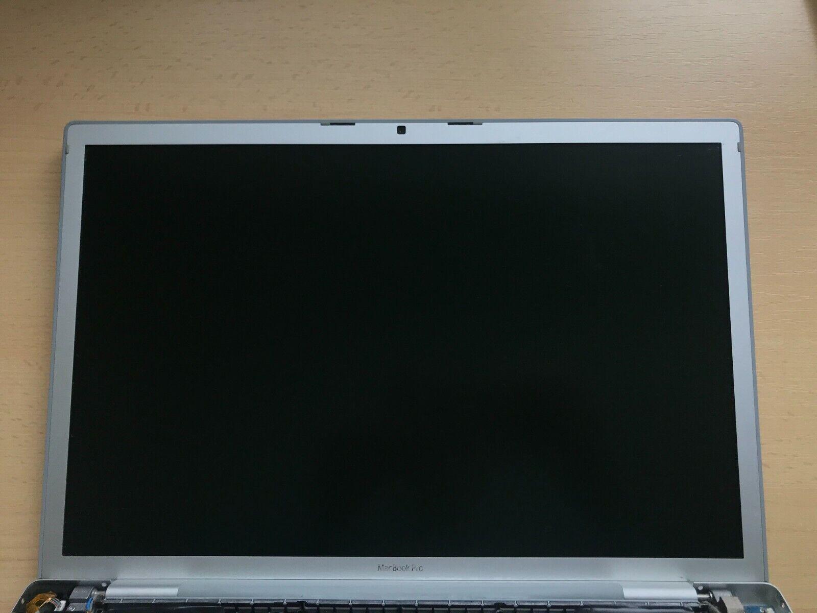 Apple MacBook PRO A1226 A1260 2007 2008 15 LCD SCREEN DISPLAY FULL Upper Case