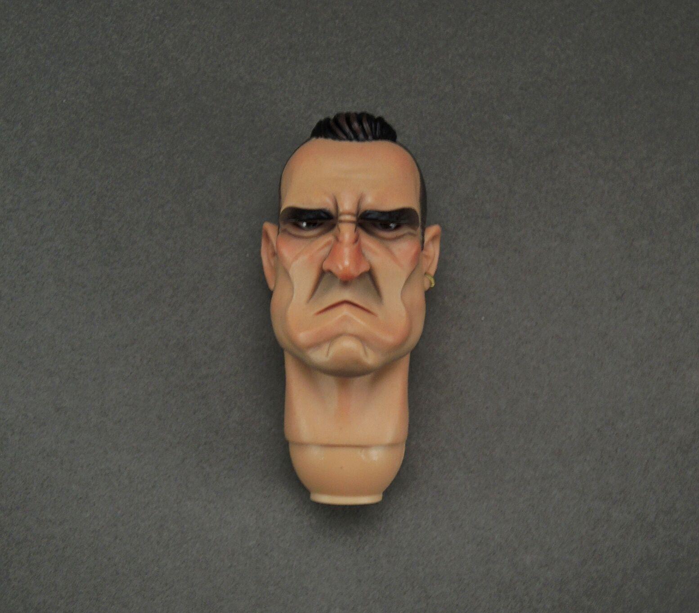 1/6 Scale DAM TOYS Gangsters Kingdom GK002 Spade 2 Nelson Figure Head Sculpt