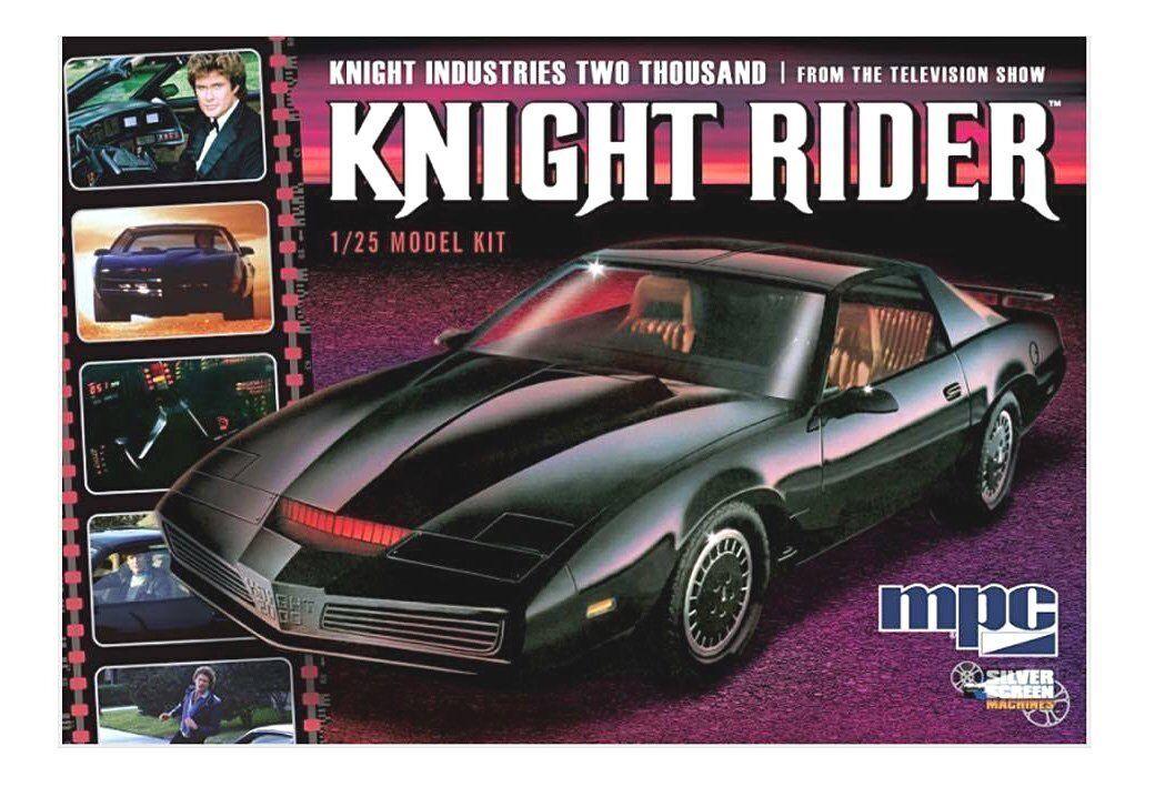Maquette Voiture Fantastique KITT 1982. Pontiac Oiseau de feu. Kit de montage.