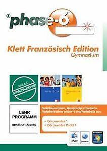 Fase-6-Velcro-francese-Edition-Gymnasium-vokabelt-Software-stato-bene