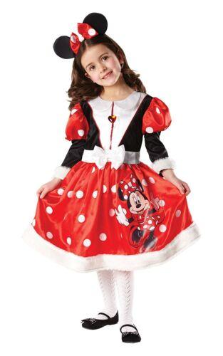 Costume Carnevale Bambina Minnie Winter Disney *05207