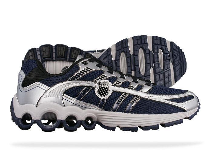 K-SWISS 02499-442 SUPER TUBES RUN 50 Mn's (M) Navy Silver Mesh Running shoes