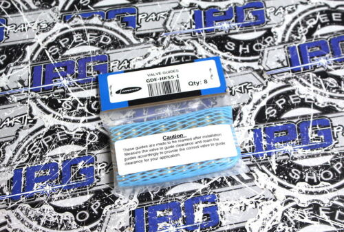 Supertech Bronze Intake Valve Guides Honda /& Acura K20 K20A K20A2 K20Z1 K24 K24A