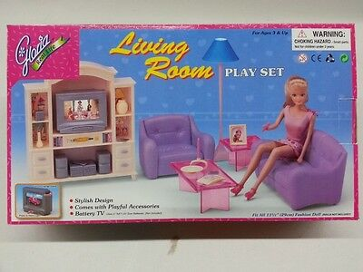 Gloria Doll House Furniture/(24012)My fancy life Living Room Play Set