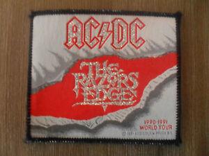 AC-DC-the-razors-Edge-1990-1991-world-tour-patch-Sew-On