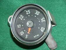 Vintage Stewart Warner Tach Tachometer Mechanical Drive Rat Rod Hot Harvester