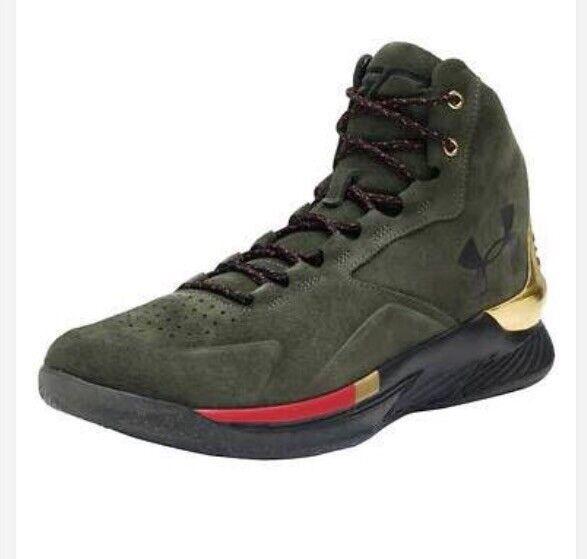 a3016c38c1c Under Armour Mens Men s UA Curry 1 Lux Mid SDE Basketball Shoe for sale  online