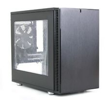 Fractal Design Define Nano S Window Silent Mini ITX Tower FD-CA-DEF-NANO-S-BK-W