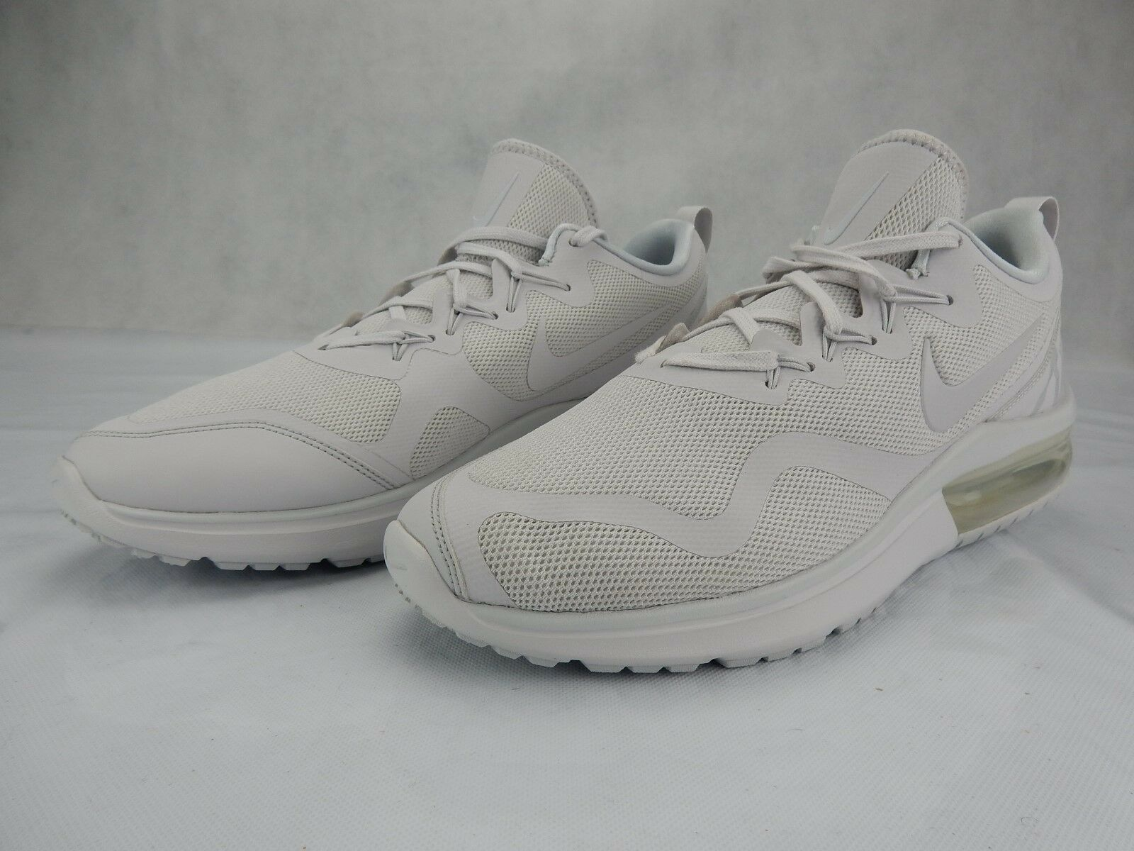 Nike Air Max Fury White Grey Platinum S AA5739 100 Mens Shoes S Platinum Size 10.5 Sneakers b8ac28