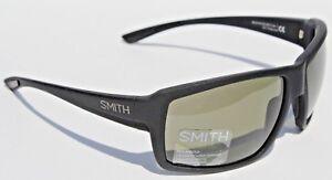 a45ea0b839c Image is loading SMITH-OPTICS-Colson-POLARIZED-Sunglasses-Matte-Black-Gray-