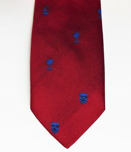 Heraldic silk tie 3 seaxes Essex Middlesex NEW Moodys made in England gold blue