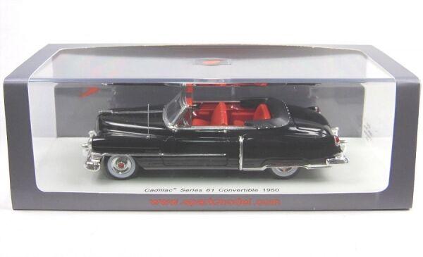 Invincible pour forcer le groupe à acheter aucune livraison à des prix abordables Cadillac series 61 convertible (Black) 1950 | De Nouvelles Variétés Sont Introduites L'une Après L'autre