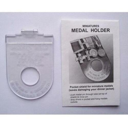 Plastic Full Size Medal Holder