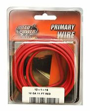 Coleman Cable 55671533 12 Gauge Automotive Copper Wire, Red, 11'