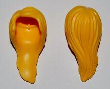 10827 Pelo mujer largo amarillo 2u playmobil