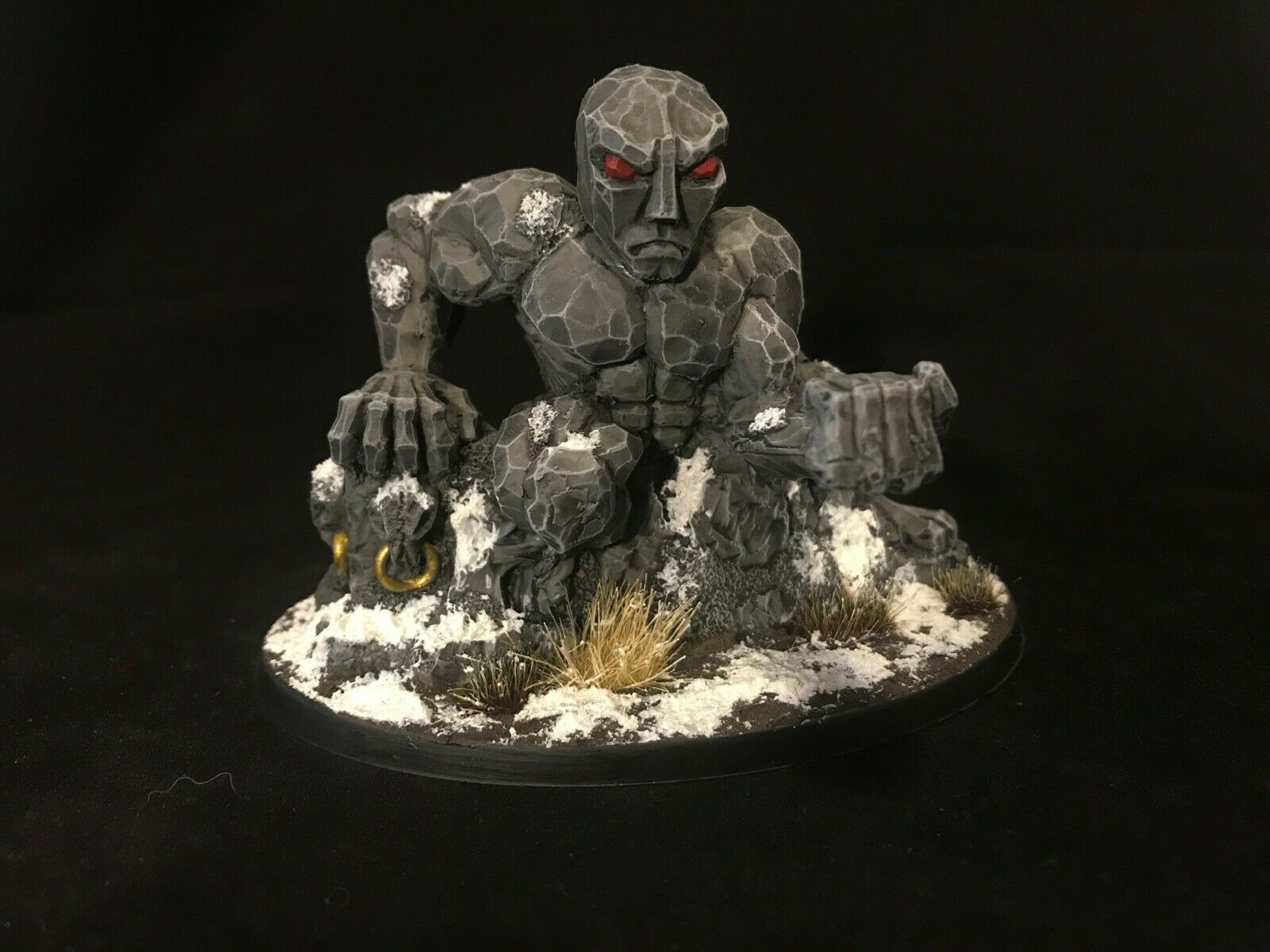 Painted Giant Giant Giant Reaper Miniature D&D Pathfinder