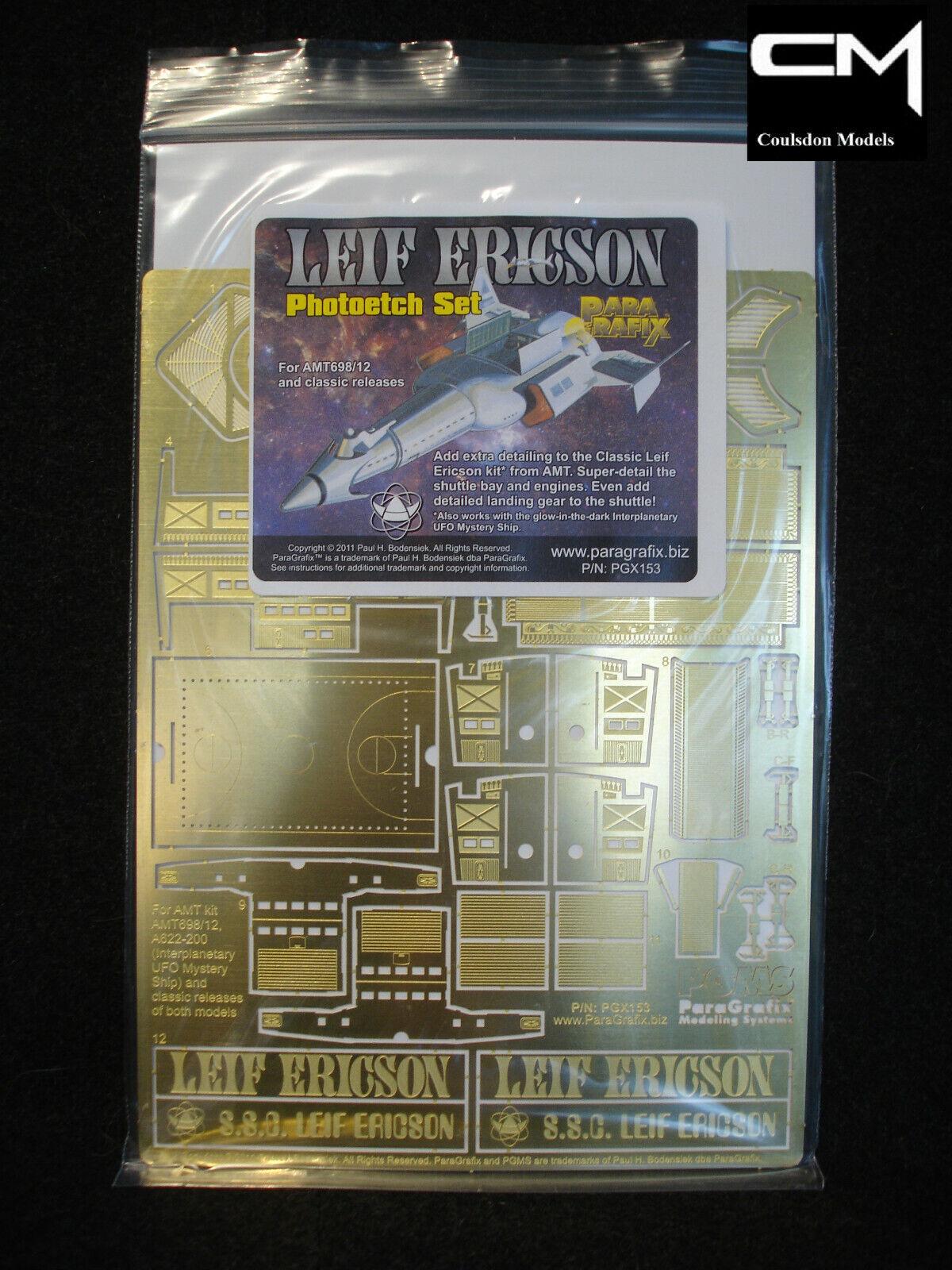 Paragrafix PGX153 Leif Ericson Photoetch Set Fot AMT698 12 & Classic Kits