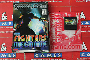 Details about Fighters MegaMix Tiger Portable System Boxed with Manual Rare