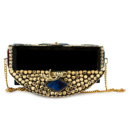 Handmade sling bag Indian vintage Antique Ethnic women girl gift party clutches