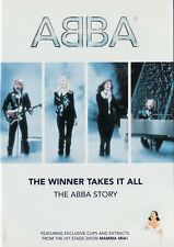 THE WINNER TAKES IT ALL THE ABBA STORY DVD AGNETHA BENNY BJORN