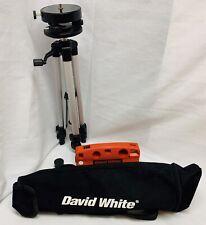 David White Tlk Torpedo Level With Laser Aperture Amp Tripod Amp Case