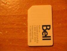 USED BELL HSPA SIM CARD RESTORING TEST CELL PHONES BOOT BYPASS UNLOCK UNLOCKING