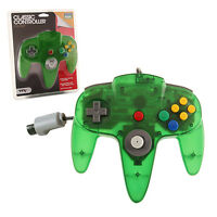Jungle Green Controller - For The Nintendo 64 Joystick Brand Fast Ship