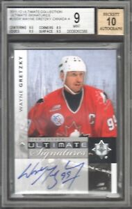 2011-12-Ultimate-Collection-Signatures-Wayne-Gretzky-Auto-BGS-9-MINT-Team-Canada
