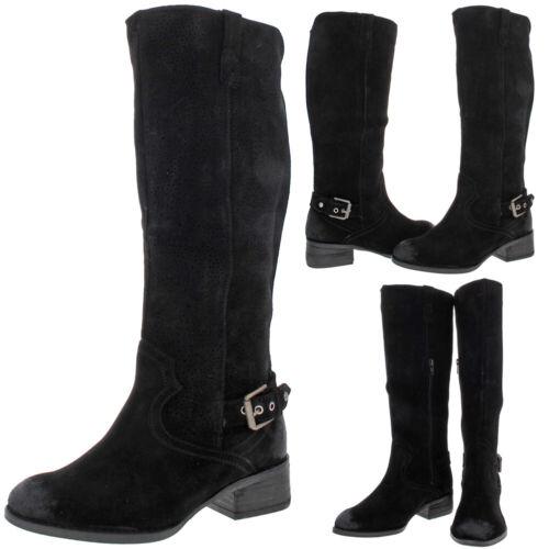Naughty Monkey Womens Ziba Black Knee-High Boots Shoes 6 Medium BHFO 4467 B,M