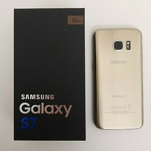 Samsung-Galaxy-S7-32GB-GOLD-AT-amp-T-CRICKET-T-MOBILE-METRO-TOP-SELLER-USA
