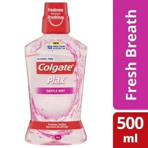 Colgate Plax Premium Gentle Mint Mouthwash 500mL