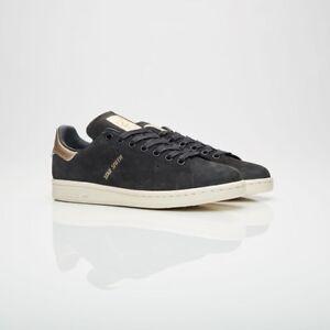 Détails sur Adidas Originals Stan Smith 999 By9919 Coeur Noir Femme Tailles Neuf 100%