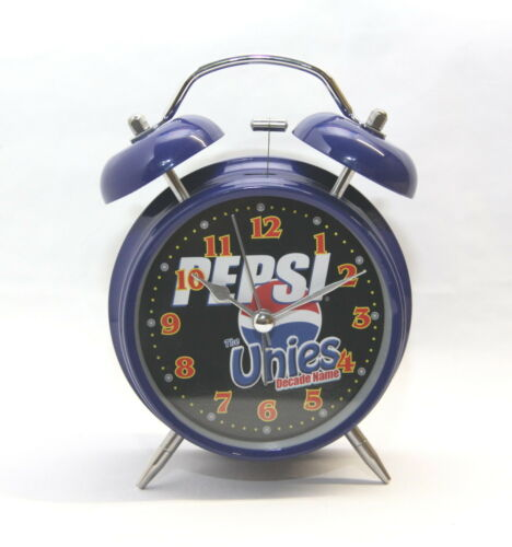 Beautiful Coca Cola Pepsi Desk Table Alarm Clock with LED night light H2104