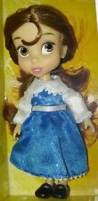 "5"" Mini BEAUTY & THE BEAST BELLE DOLL Disney Animator's Collection princess"
