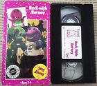 BARNEY, ROCK WITH BARNEY, VHS 1991, NTSC, LYONS GROUP, RARE, 35% OFF 2+