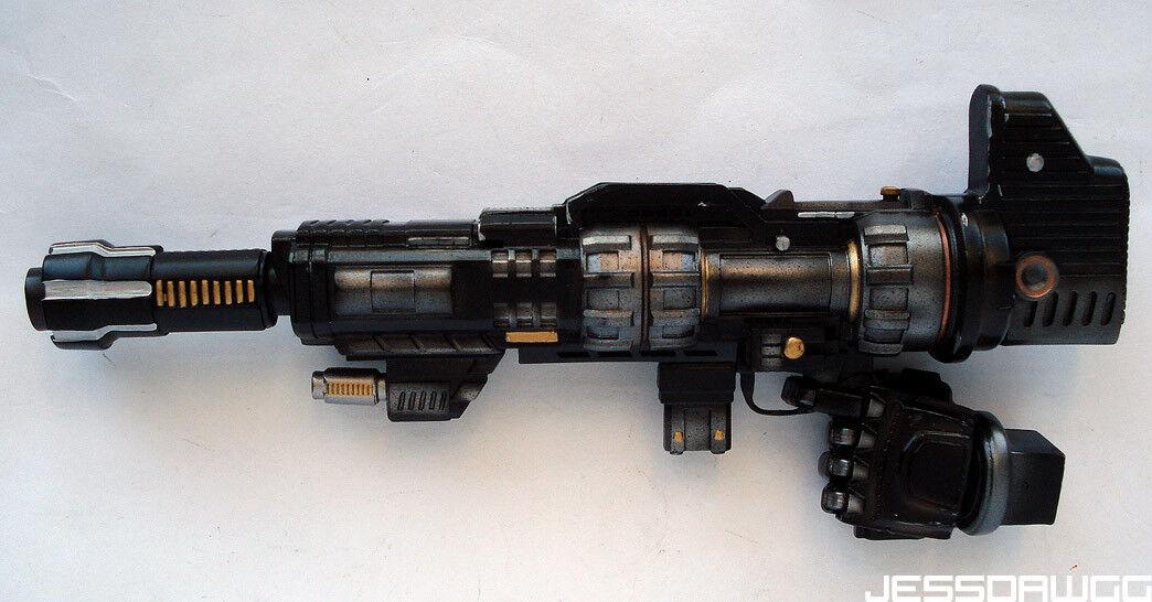 Blaster Rifle Nemesis Prime Statue by Imaginarium Art Transformers optimus gun