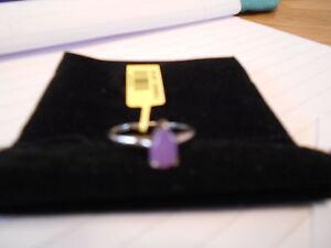 Sterling Silver purple gemstone set ring  new - Barry, United Kingdom - Sterling Silver purple gemstone set ring  new - Barry, United Kingdom
