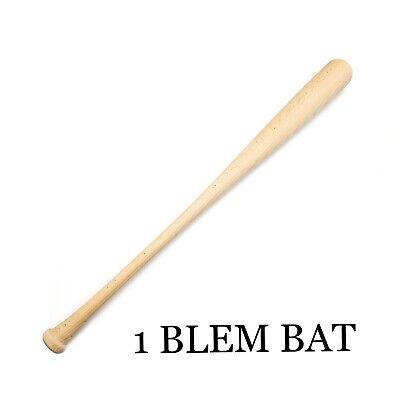 """2  33.5/"""" Wood Baseball Bats Maple Blem Unfinished"""