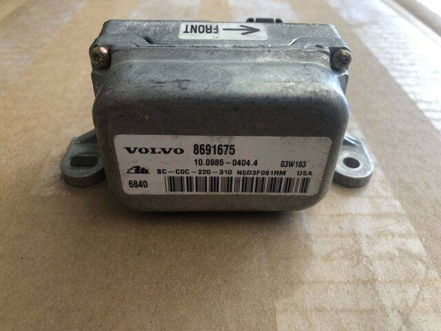 03 11 Volvo Xc90 Xc 90 Traction Control Yaw Rate Speed Sensor Module 8691675 For Sale Online Ebay