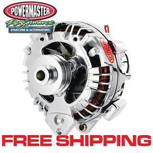 Powermaster 175091 Mopar 90 Amp One Wire Alternator w/ 2V