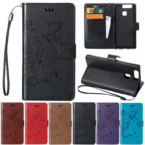 Magnetic-Leather-Stand-Wallet-Card-Case-Cover-For-HUAWEI-Mate-8-Honor-5X-7i-P9-8