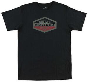 Tatter SS Tee Red Metal Mulisha Mens