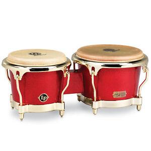 Latin-Percussion-LP-GALAXY-Fausto-Cuevas-III-Signature-Bongos-Rouge