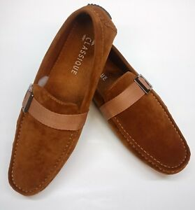 Mens-039-New-Slip-On-Casual-Boat-Deck-Moccasin-Designer-Loafers-Driving-Shoes-Size