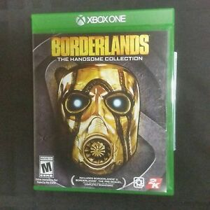 Video Games & Consoles Replacement Case No Game Borderlands Handsome Collection For Xbox One