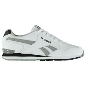 Reebok-Mens-Royal-Glide-Clip-Perforated-Trainers-Classic-Shoes-Lace-Up-Panelled