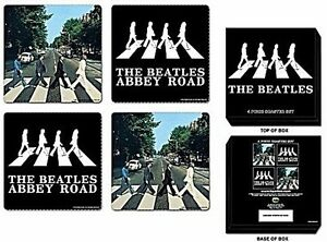 Beatles-Abbeyt-Road-drinks-coaster-set-ro-REDUCED-TO-CLEAR