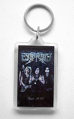 ESCAPE THE FATE THE DEAD MASQUERADE 2011 TOUR ACRYLIC KEYCHAIN NEW OFFICIAL